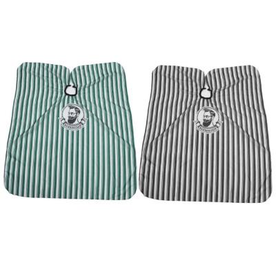 Baardzaken-barber-schort-apron-zwart-groen